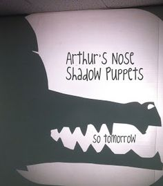 Great idea for a shadow storytime!