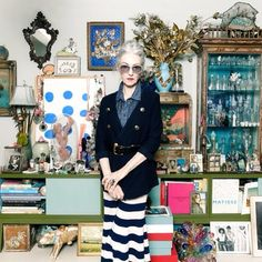 """""""2015 New Year's Resolution: Be more like Linda Rodin."""""""