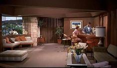 "Frank Lloyd Wright house in Carmel CA in ""A Summer Place"" (1959)"