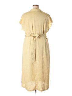 Ashley Stewart Casual Dress: Size 16.00 Tan Women's Dresses - $16.99