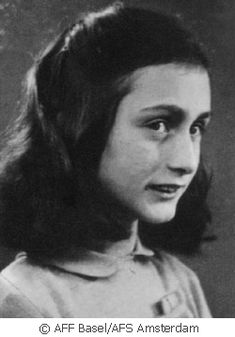 images of anne frank   ž annelisse maria frank mais conhecida como anne frank frankfurt am ...