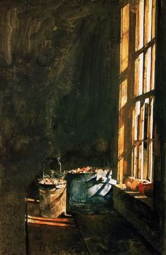 pluiesourire:  (Andrew Wyeth - Cranberries)  Psapp - Cosy in the rocket by www.drago.mobi