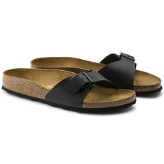 867fbec5110 Madrid Birko-Flor Black Birkenstock, Sandals, Madrid, Black, Shoes, Style
