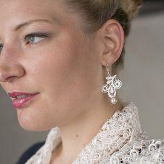 Spitzenaccessoires für die Vintage-Braut