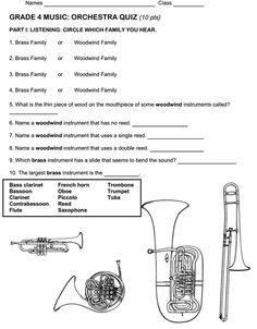 Instrument Unit - Beth's Music Notes: orchestra