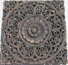 thai wood carving