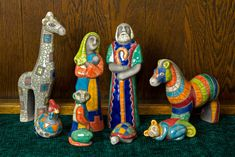 Large selection of Nativity Sets and Nativity Figures at Low Online Prices Nativity Scene Sets, Nativity Creche, Christmas Nativity, All Things Christmas, Christmas Holidays, Christian Art Gifts, Happy Birthday Jesus, Auction Projects, Raku Pottery