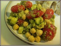 Pesto Bean Salad