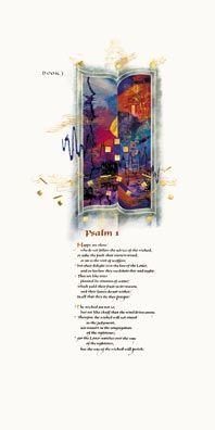 Donald Jackson and the Bible of St. John's.