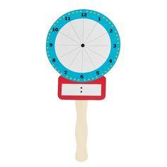 Dry Erase Clock - OrientalTrading.com