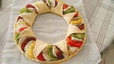 Tarte soleil tomates mozzarella - Oulala c'est bon Antipasto, Cooking Time, Cooking Recipes, Panini Sandwiches, Mini Muffins, Caprese Salad, Nutella, Love Food, Entrees