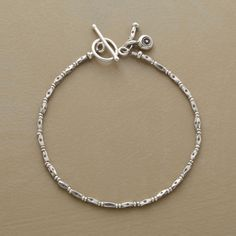 FOREVER BRACELET -- A go-with-everything jewelry box basic you may find yourself wearing daily. Sterling silver