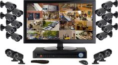 Wireless Home Security Camera System Features Advantages - Home Security Camera - Ideas of Home Security Camera - Wireless Home Security Camera System Features Advantages Wireless Home Security Cameras, Home Security Tips, Wireless Home Security Systems, Security Alarm, Safety And Security, Video Security, Security Cams, House Security, Security Gadgets