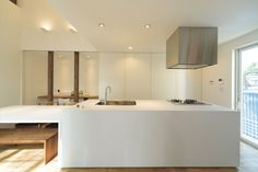 Natural Interior, New Kitchen, Bathroom Lighting, Mirror, House, Furniture, Home Decor, Spaces, Counter Tops