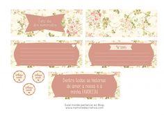 Molde Cartão dia dos Namorados Rosa lado
