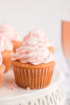 Have you been searching for the perfect pink champagne cupcake for your special occasion? These ligh. Cupcake Recipes, Baking Recipes, Dessert Recipes, Baking Ideas, Easter Recipes, Dessert Ideas, Brunch Recipes, Yummy Recipes, Healthy Recipes