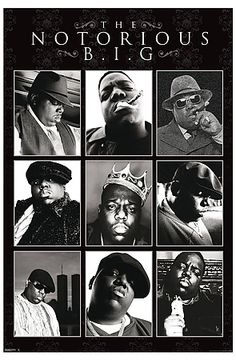 Pyramid America The Notorious BIG Poster : Karmaloop.com - Global Concrete Culture