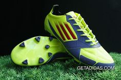 d6327cc2859 365 Days Return Famous Brand Adizero SL TRX FG Electricity Blue Red Newest  Available Adidas F50 Fashion TopDeals