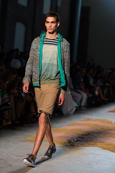 interesting mix of colors and textures from missoni