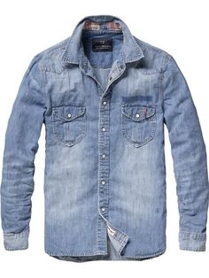 In love with Denim shirts.