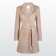 Coat with classic collar #XandresAW16 #Autumn #NewArrivals #FallCollection #AW16 #Xandres