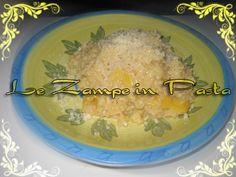 Le Zampe in pasta: Risotto al Limone