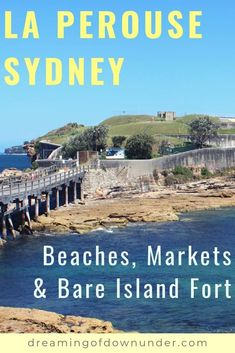 The best things to do in La Perouse Sydney, Botany Bay. Includes Bare Island Fort, beautiful La Perouse Beach, a cliffside walk & La Perouse snake man! Sydney Australia Travel, Coast Australia, Visit Australia, Queensland Australia, Western Australia, Cities In Wales, Australian Photography, Sydney Beaches, Botany Bay