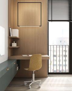 Kid's room #kidsroom #ideasforkidsroom #modernkidsroom minimalism #minimalisticarchitecture #minimalisticinterior #architecture #modernarchitecture #design #minimalisticdesign #minimalistickidsroom Minimalist Interior, Minimalist Design, Kidsroom, Modern Architecture, Kids Bedroom, Office Desk, Corner Desk, Minimalism, Table