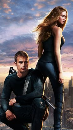 Divergent Movie Characters iPhone 6 HD Wallpaper