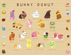 • cat dog cute food animal pixiv dessert bird bread ice cream bunny rabbit burger sandwich hotdog donut snack kinokorin •