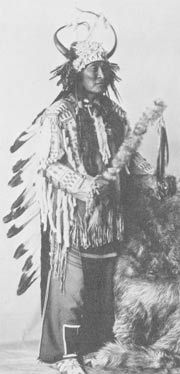 Tom Edmo, Shoshone medicine man in 1930's.