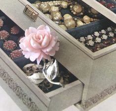 Romantic Gifts For Her, Decorative Boxes, My Etsy Shop, Presents, Gifts, Gift