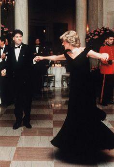 Lady D & John Travolta