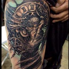 Beautiful arm tattoo, female Ink, beauty, black Ink, tattoo,