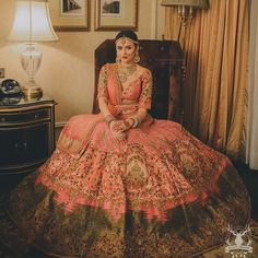 Looking for Bridal Lehenga for your wedding ? Dulhaniyaa curated the list of Best Bridal Wear Store with variety of Bridal Lehenga with their prices Wedding Lehnga, Indian Bridal Lehenga, Indian Bridal Outfits, Red Lehenga, Indian Bridal Fashion, Indian Bridal Wear, Indian Dresses, Bridal Dresses, Wedding Dress