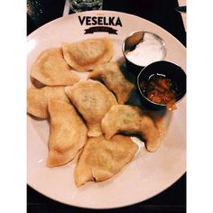 Veselka, E. Village: allegedly the best pierogis in NYC (especially the short ribs)