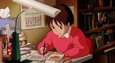 Finding Your Calling | Whisper of the Heart | Miyazaki | Studio Ghibli | (gif)