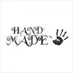 Stempel - Hand Made - duży CraftyMoly