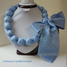 What's crucial is that your jewelry compares with your attire. Your precious jewelry is the finishing discuss your total look. Make your fashion statement count! Fabric Beads, Fabric Jewelry, Body Necklace, Tie Crafts, Tie Quilt, Diy Jewelry Inspiration, Recycled Jewelry, Amber Jewelry, Ribbon Bows