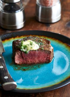 The best filet mignon steak recipe, period. Once you try it you will never cook your tenderloin steak any other way. | cravingtasty.com Best Filet Mignon Recipe, Filet Mignon Steak, Filet Steak, Beef Recipes For Dinner, Grilling Recipes, Cooking Recipes, Meat Recipes, Holiday Recipes, Fillet Steak Recipes