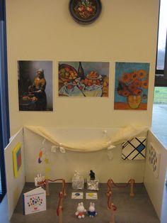Telltafel, 'Miffy im Museum', für das Kunstthema. – Telltafel, 'Miffy im Mus… Subject Of Art, Creative Area, Miffy, Art Themes, Rembrandt, Teaching Art, Art Education, Van Gogh, Art Museum