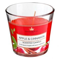Conicle Candle, Apple/cinnamon