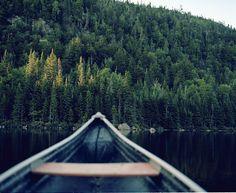 canoe perspective