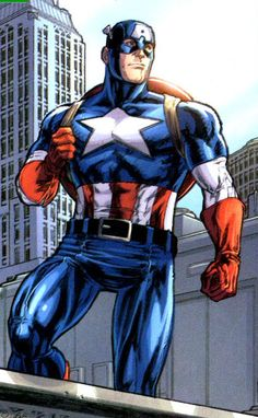 Captain America by Michael Ryan