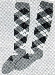 Argyle Sock pattern. I'll be doing these in my favorite team colors!!!!