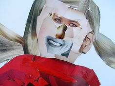 kids art: magazine collage on life sized body Do this for afterschool program on the fly!