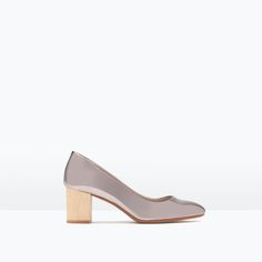 Image 1 of SHINY COURT SHOES from Zara