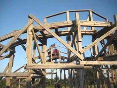 Homemade Roller Coaster – DIY Backyard Roller Coaster
