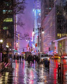 42nd St, Manhattan, NYC by Matthew Chimera Photography