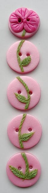 Handmade Polymer Clay Buttons / Buttons by Benji. The best handmade buttons in NZ!